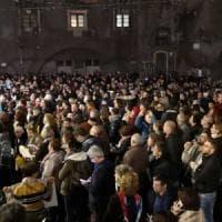 """Le Sardine invadono Catania: """"Siamo la risposta a chi semina odio"""""""