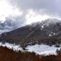 Neve a Piano Battaglia, ma gli impianti sono chiusi
