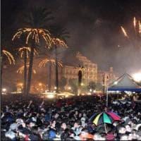 Capodanno a Palermo, in piazza Biondi, Frassica e i Tinturia