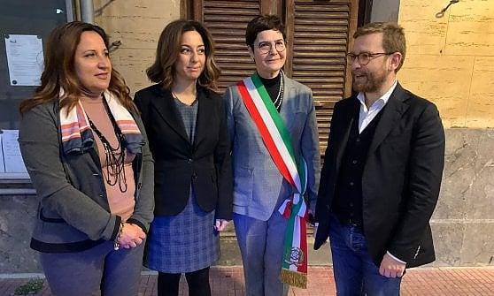 """Palermo, il ministro Provenzano dalle sorelle Napoli: """"L'antimafia è donna"""""""