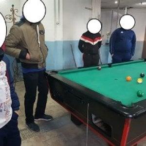 Catania, a Librino scoperta sala giochi con biliardo in una casa gestita da un 14enne
