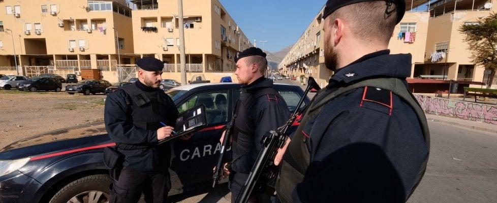 Criminalità: maxi blitz dei carabinieri allo Zen di Palermo
