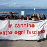 Sicilia, marcia anti-fascista a Trappeto
