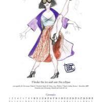 Palermo, il calendario della costumista con i bozzetti di scena