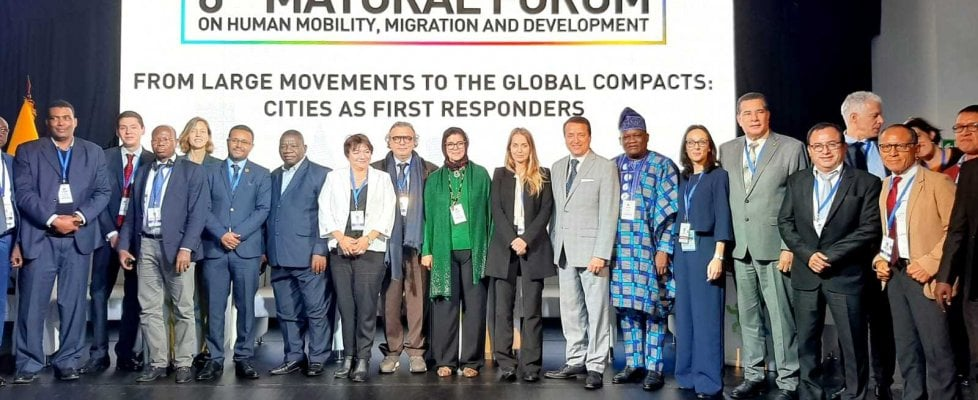 """Il sindaco di Lampedusa al Global Forum in Messico: """"La migrazione non può essere fermata"""""""