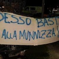 Palermo, protesta allo Zen:
