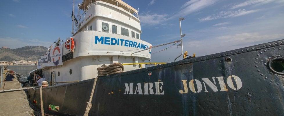 Il tribunale di Palermo dissequestra la nave Mare Jonio