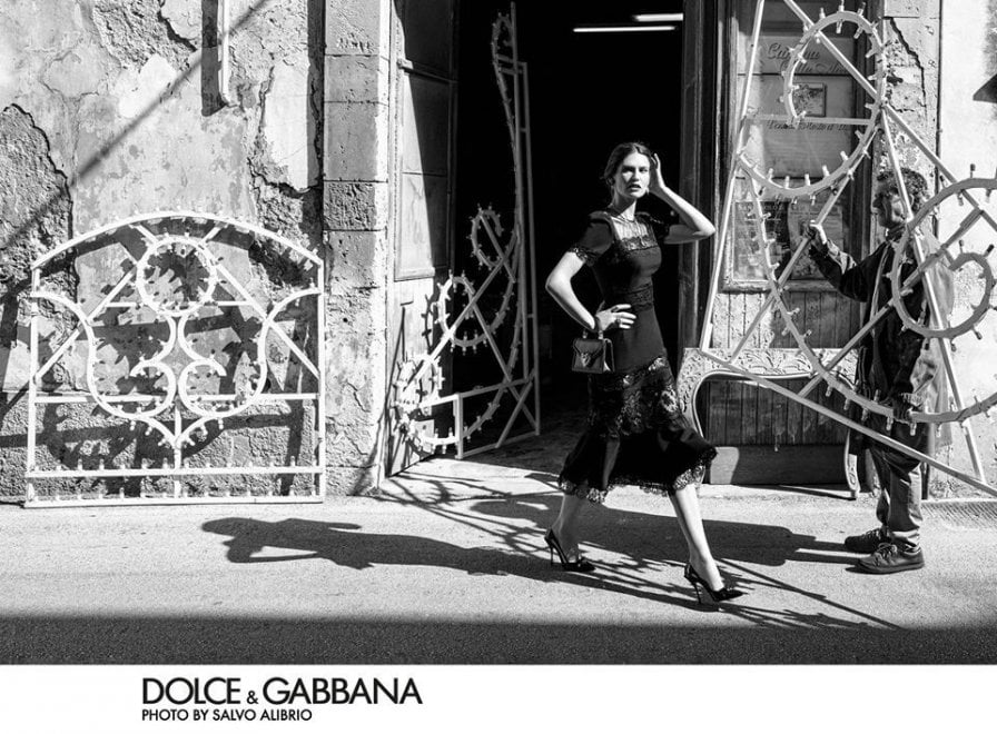 La rivincita di Palazzolo, set per Dolce e Gabbana