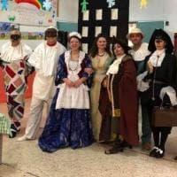 Carnevale a Capaci, i bambini protagonisti e l'omaggio a Fellini