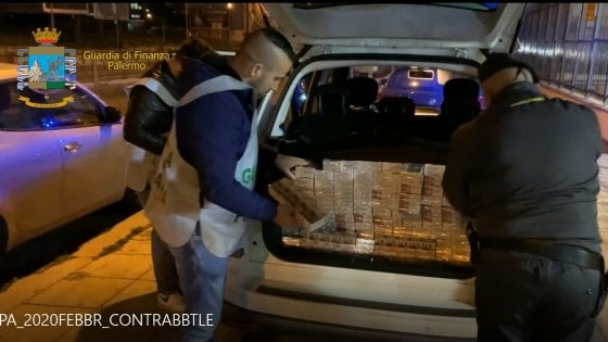 Palermo, sequestrati 105 chili di sigarette di contrabbando