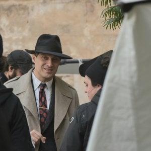 """Palermo, la serie su """"L'Ora"""" si gira in piazza Pretoria"""