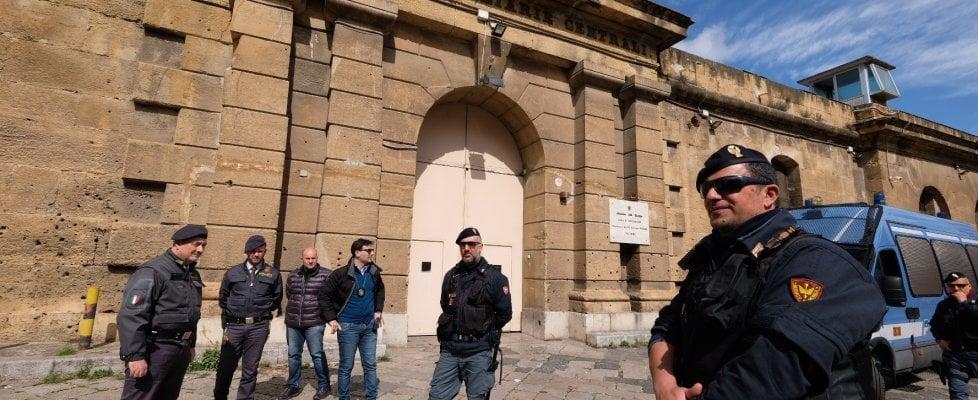 Coronavirus a Palermo, tentativo di evasione all'Ucciardone. Sciopero della fame al Pagliarelli