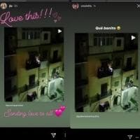 Palermo che balla per il coronavirus finisce sul profilo Instagram di Jennifer