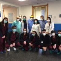 Guariti 5 pazienti dal Covid hospital di Partinico: una ha 92 anni. Altri