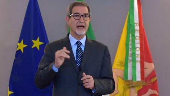"""Coronavirus, il governatore  Musumeci: """"In Sicilia non consentiamo passeggiate con bambini"""""""