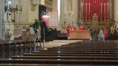 Domenica delle Palme a porte chiuse: la messa in streaming di Lorefice  in cattedrale