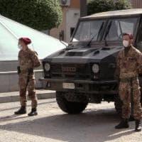 Marsala, l'esercito presidia supermercati e rivendite autorizzate