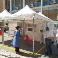 Palermo, tamponi per tutti al Policlinico