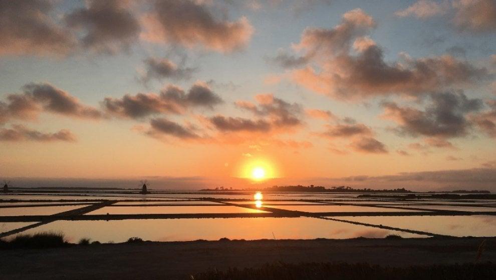 Marsala, il fascino del tramonto alle isole dello Stagnone