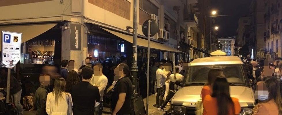 Palermo, movida selvaggia: sanzionati quattro locali, tensioni con gli agenti