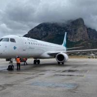 Air Dolomiti atterra in Sicilia, oggi il primo volo da Firenze a Palermo