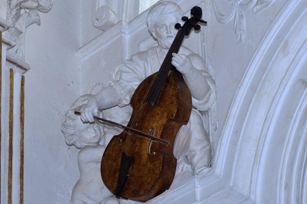 Palermo, gli strumenti musicali riprodotti per l'Oratorio di San Lorenzo