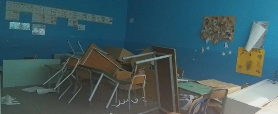 Zen, ennesimo raid alla scuola Falcone: devastato il plesso della primaria