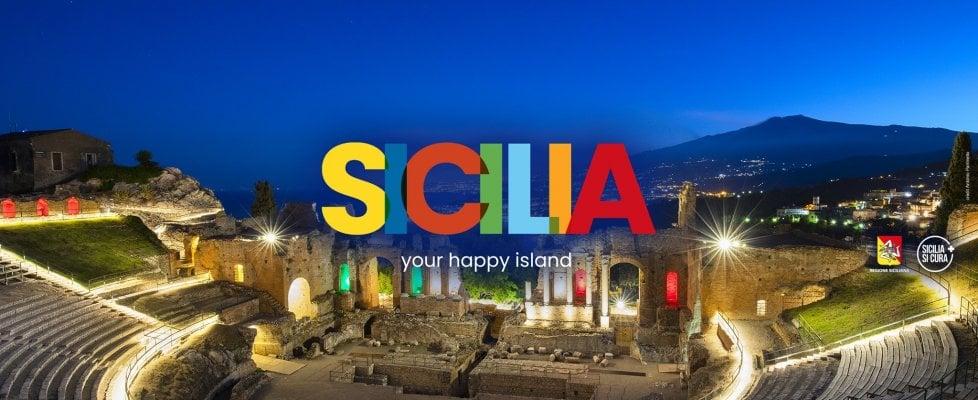 """""""Sicilia: your happy island"""", il nuovo marchio per promuovere il turismo"""