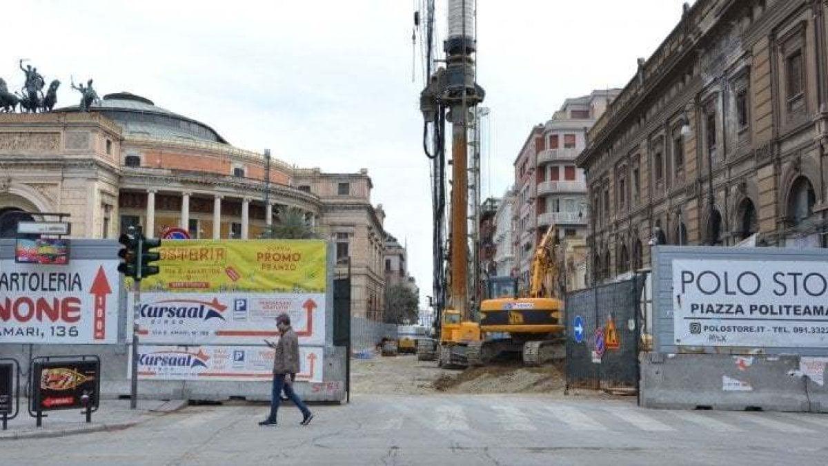 Palermo, anello ferroviario: via Ruggero Settimo chiude il 6 luglio