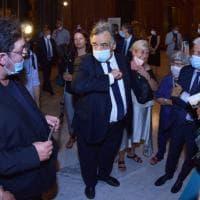 Palermo, pubblico in mascherina e orchestra in platea: il Massimo riparte