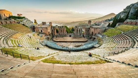 "Guerritore: ""Che energia i teatri antichi"""
