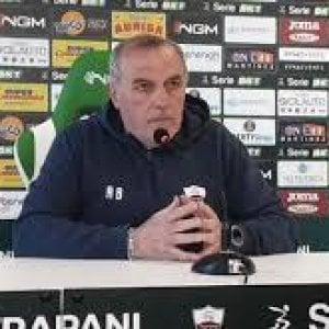 """Trapani, Castori: """"Non mi fido del Benevento, serve una impresa"""""""