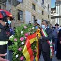 L'atto di affidamento di Palermo a Santa Rosalia