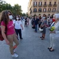 Palermo, un fiore per le donne vittime di femminicidio