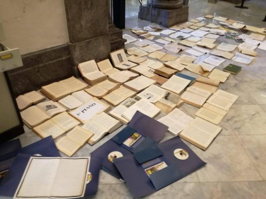 Palermo, danneggiata la Biblioteca regionale durante la bomba d'acqua