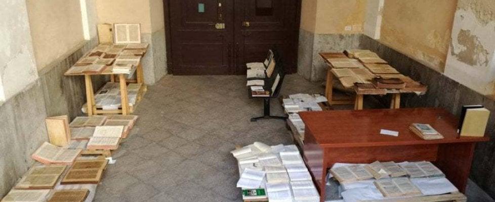 """Sicilia, alta tensione fra i sindacati e Musumeci: """"Biblioteca allagata, dove sono presidente e assessore?"""""""
