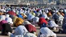 Mille musulmani    al Foro Italico    per la Festa del sacrificio