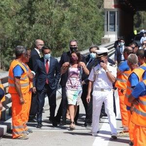 Riaperto il viadotto Imera, alla cerimonia assenti i rappresentanti della Regione