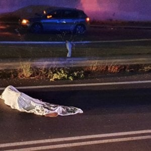 """He escapes from the center of Siculiana, a migrant run over and killed.  The Minister of the Interior: """"It's a tragedy"""""""