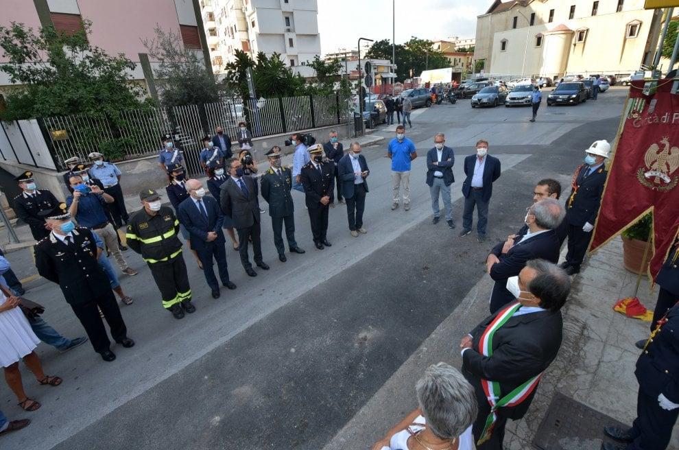 Palermo, una cerimonia per il giornalista Mauro De Mauro, ucciso 50 anni fa