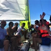 Sicilia, ragazzi ipovedenti in barca a vela, a cavallo e in trekking per archiviare il lockdown