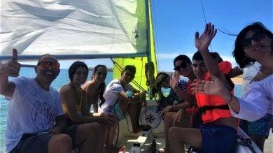 Ragazzi ipovedenti in barca e a cavallo per archiviare il lockdown  Foto