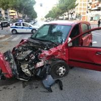 Palermo, incidente all'alba in via Ausonia: quattro feriti gravi