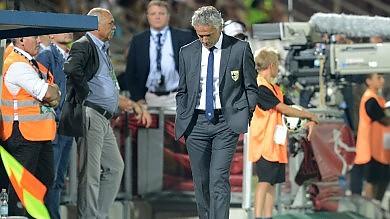 Cesena- Parma 1-0  /   Le foto    Gialloblu, debutto amaro