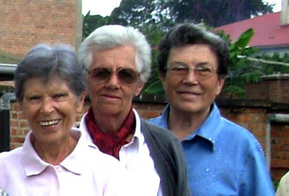 Sett. 2014 Tre missionarie saveriane  uccise in Burundi