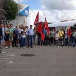 """""""Nestlè disinveste a Parma"""" Manifestazione dei lavoratori  Impegno dei parlamentari Pd"""
