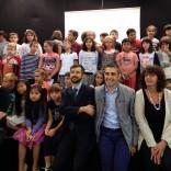 Al via il nuovo anno scolastico   Il sindaco alla Toscanini /   Foto        Video: il coro degli alunni