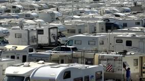 L'invasione dei camper alle Fiere