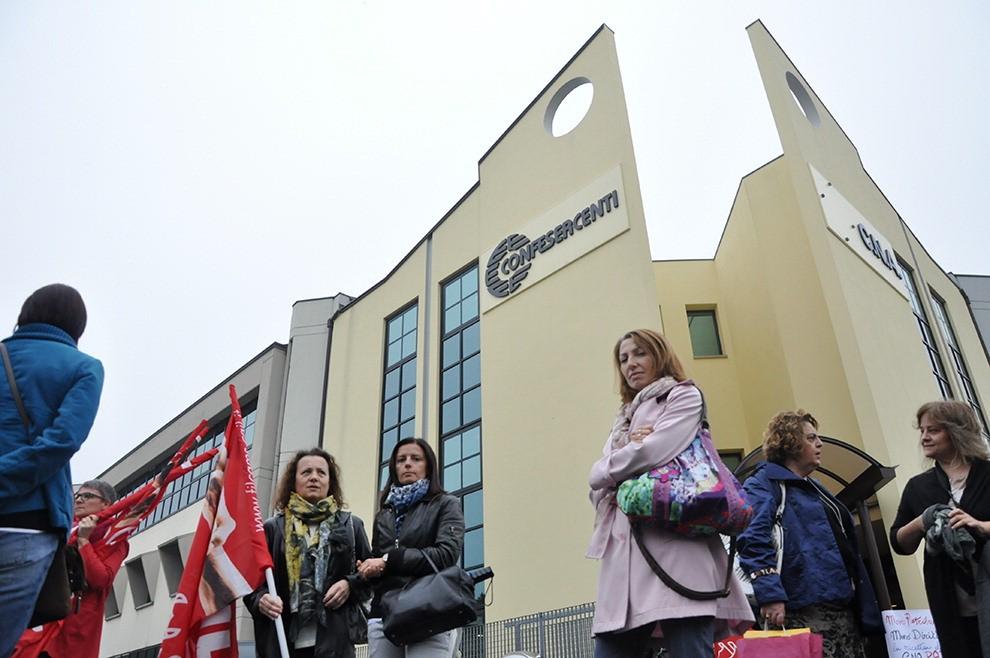 Cna, presidio dei lavoratori - 1 di 11 - Parma - Repubblica.it