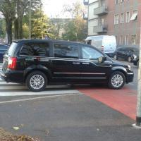 Perché ha parcheggiato lì?